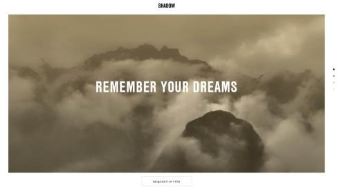 Virginia Duran Blog- Best New Web Design - Inspiration- Shadows