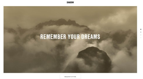 Virginia Duran Blog- Best New Web Design - Inspiration- Shadows