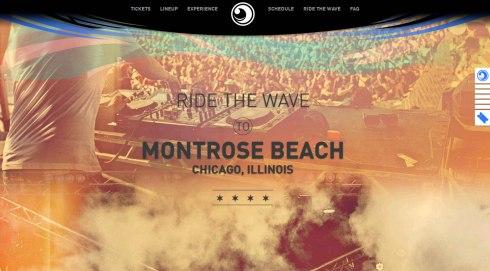 Virginia Duran Blog- Best New Web Design - Inspiration- Wavefront Festival