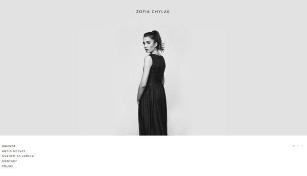 Virginia Duran Blog- Best New Web Design - Inspiration- Zofia Chylak