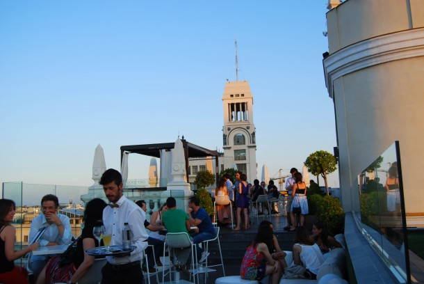Virginia Duran Blog- Best  Rooftops of Madrid- Hotel Ada by Narciso Bermejo Sunset Circulo Bellas Artes