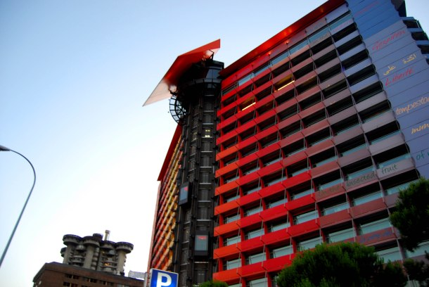 Virginia Duran Blog- Best Rooftops of Madrid- Hotel Silken Puerta de America Up