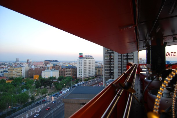 Virginia Duran Blog- Best Rooftops of Madrid- Hotel Silken Puerta de America