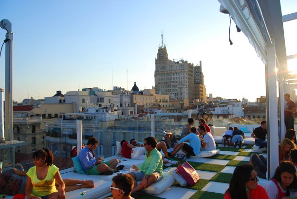 Virginia Duran Blog- Best Rooftops of Madrid- Room Mate Oscar Hotel -1