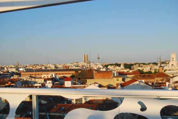 Virginia Duran Blog- Best Rooftops of Madrid- Room Mate Oscar Hotel -4