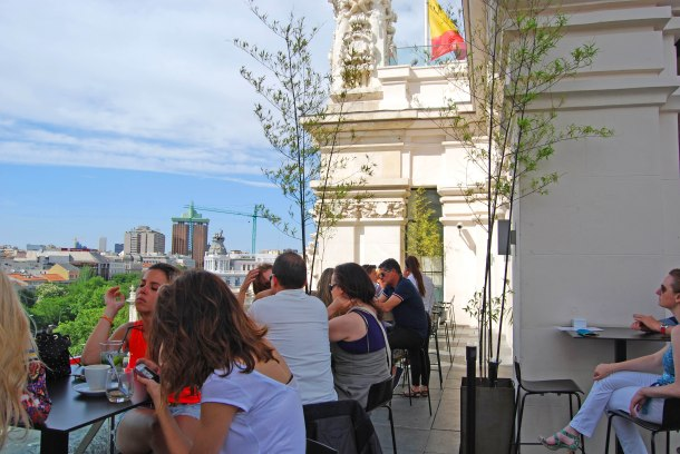 Virginia Duran Blog- Best  Rooftops of Madrid- Terraza Cibeles 2