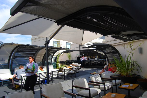 Virginia Duran Blog- Best  Rooftops of Madrid- Terraza Cibeles Palacio