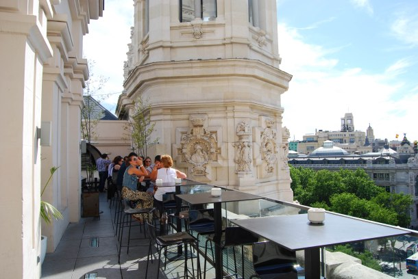Virginia Duran Blog- Best Rooftops of Madrid- Terraza Cibeles -
