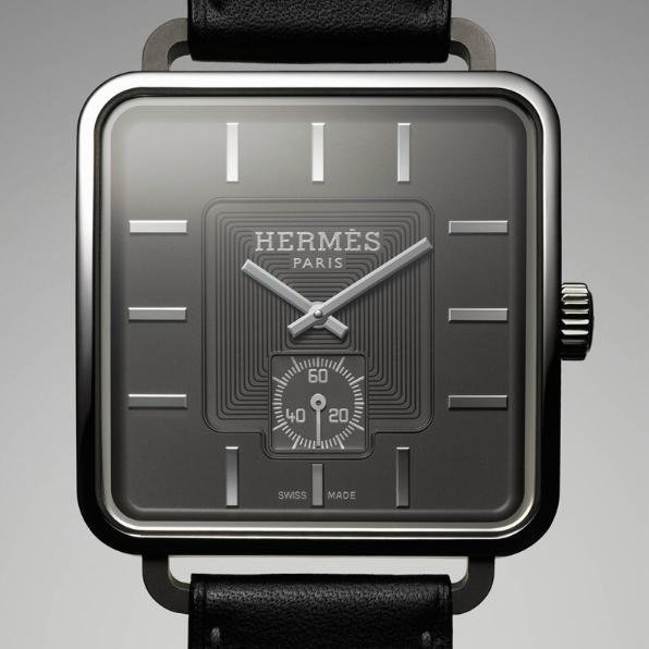Virginia Duran Blog- Beautiful Watches designed by Architects- Hermes Carre H Watch by Marc Berthier
