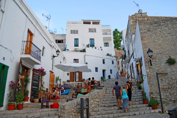 Virginia Duran Blog- The Best 15 Panoramas of Ibiza- Old Town Ibiza