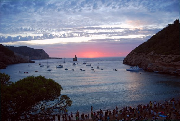 Virginia Duran Blog- The Best 15 Panoramas of Ibiza- Port de Benirras Sunset