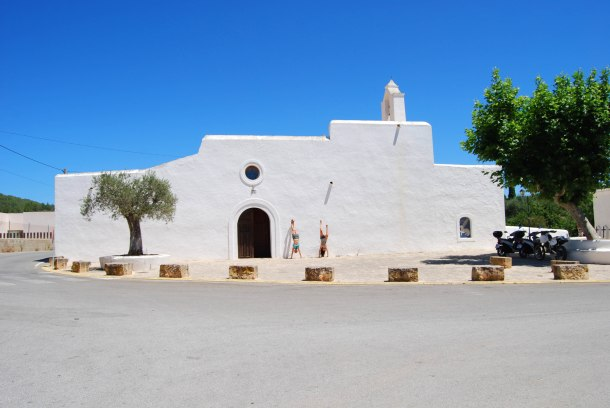 Virginia Duran Blog- The Best 15 Panoramas of Ibiza- Santa Agnes Church