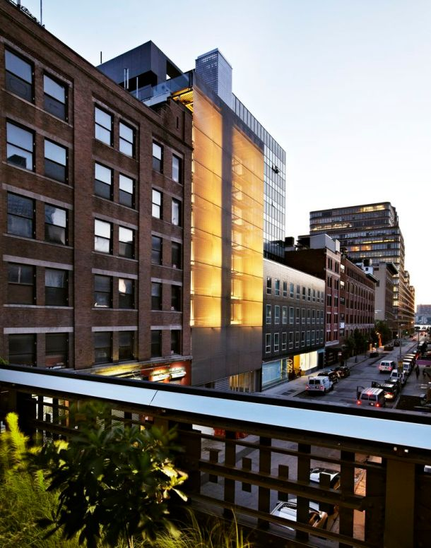Virginia Duran Blog- Amazing Buildings You Shouldn't Miss Around The High Line- Hotel Americano New York Exterior