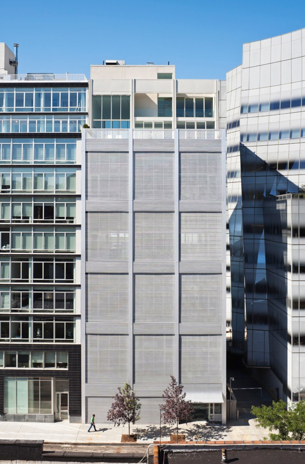 Virginia Duran Blog- Amazing Buildings You Shouldn't Miss Around The High Line- Metal Shutter Houses by Shigueru Ban Reality New York