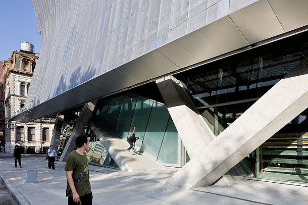 Virginia Duran Blog- Architecture and Education - Cooper Union by Morphosis Detail