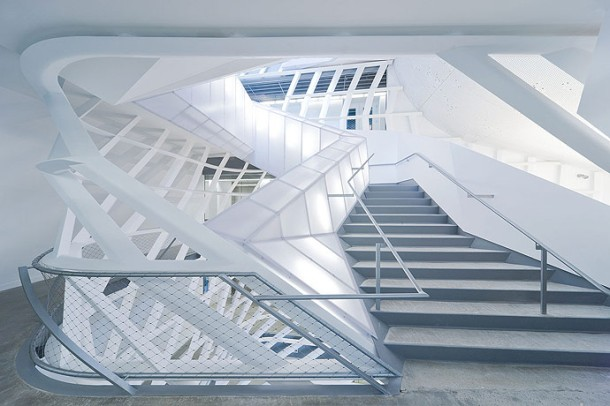 Virginia Duran Blog- Architecture and Education - Cooper Union by Morphosis Stair 2