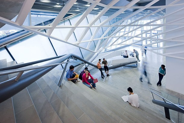 Virginia Duran Blog- Architecture and Education - Cooper Union by Morphosis Stair