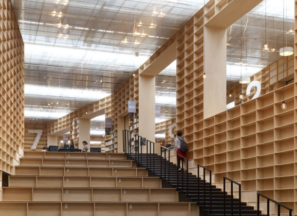 Virginia Duran Blog- Architecture and Education - MUSASHINO ART UNIVERSITY MUSEUM + LIBRARY by Sou Fujimoto Access