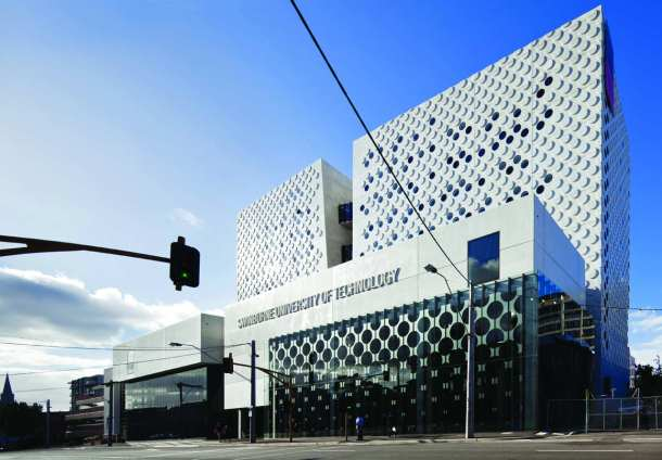 Virginia Duran Blog- Architecture and Education - The Swinburne University of Technology by H2O Exterior