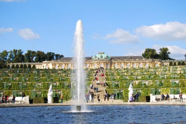 Virginia Duran Blog- Beautiful Berlin- Photography- Sanssouci Palace by Georg Wenzeslaus von Knobelsdorff