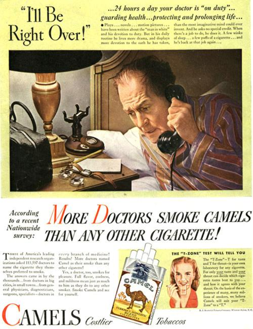 Virginia Duran Blog- Beautiful Print Ads from the Mad Men Period- Camels