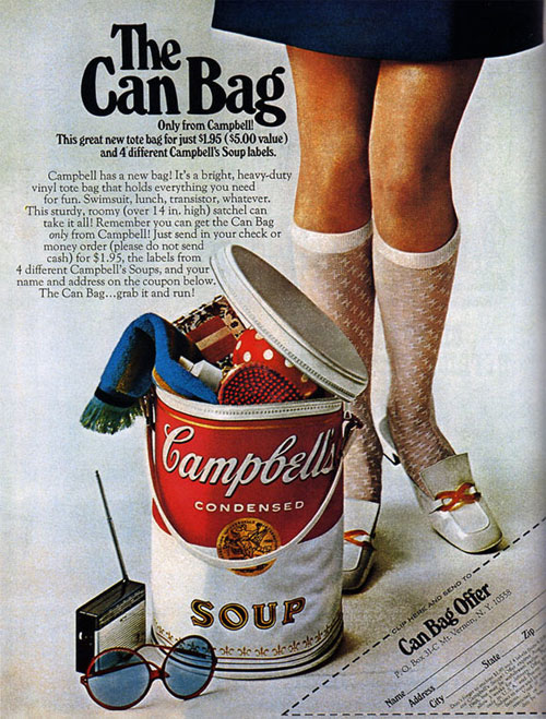 Virginia Duran Blog- Beautiful Print Ads from the Mad Men Period- Campbell's
