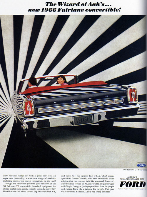 Virginia Duran Blog- Beautiful Print Ads from the Mad Men Period- Ford Fairlane