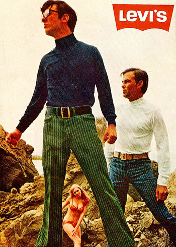 Virginia Duran Blog- Beautiful Print Ads from the Mad Men Period- Levis