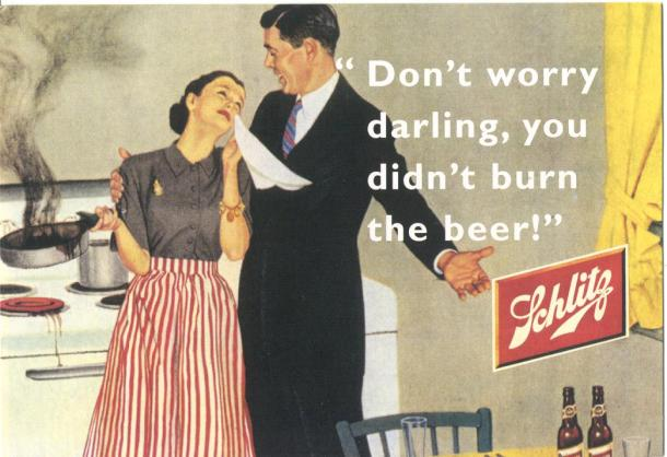 Virginia Duran Blog- Beautiful Print Ads from the Mad Men Period- Schlitz