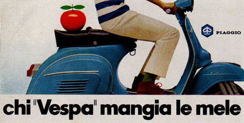 Virginia Duran Blog- Beautiful Print Ads from the Mad Men Period- Vespa