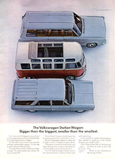 Virginia Duran Blog- Beautiful Print Ads from the Mad Men Period- Volkswagen 2