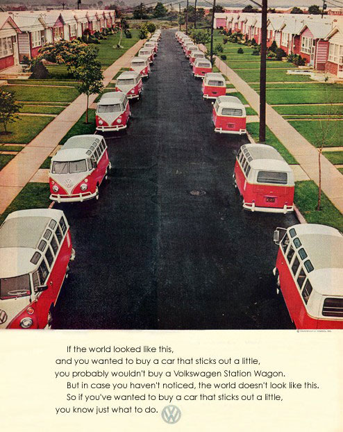 Virginia Duran Blog- Beautiful Print Ads from the Mad Men Period- Volkswagen