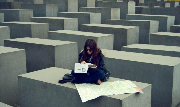 Virginia Duran Blog- Holocaust Memorial- Berlin