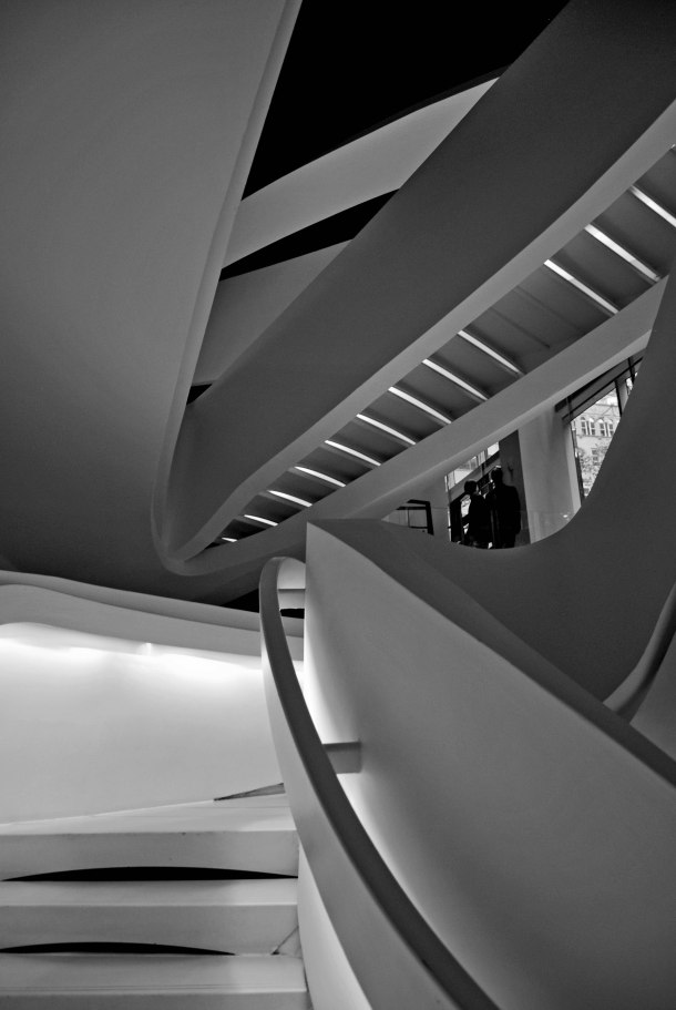 Virginia Duran Blog- New York- Armani Store Stair by Fuksas