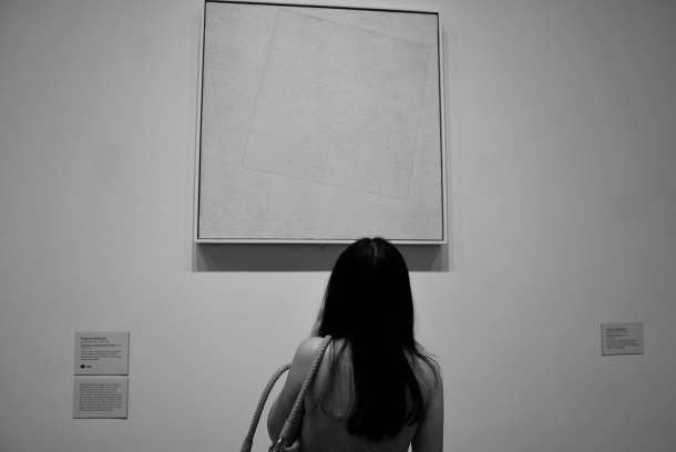 Virginia Duran Blog- New York- MoMA White on White by Malevich