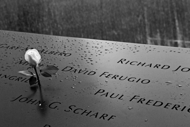Virginia Duran Blog- New York- World Trade Center Memorial fountain