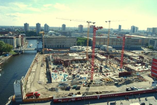 Virginia Duran Blog - Top Rooftops of Berlin - Berlin Cathedral Berliner Dom Views of construction Schloss