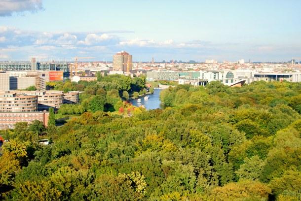 Virginia Duran Blog - Top Rooftops of Berlin - Berlin Victory Column by Heinrich Strack views of Congress Hall