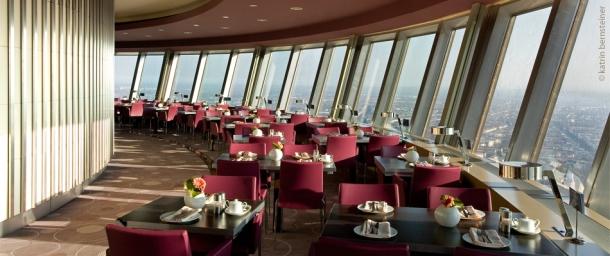 Virginia Duran Blog - Top Rooftops of Berlin - Berliner Fernsehturm Restaurant Views