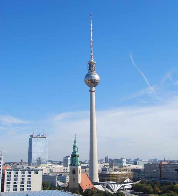 Virginia Duran Blog - Top Rooftops of Berlin -  Berliner Fernsehturm
