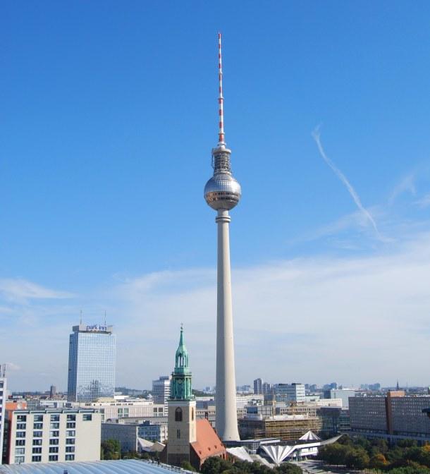 Virginia Duran Blog - Top Rooftops of Berlin - Berliner Fernsehturm