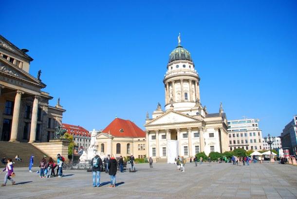 Virginia Duran Blog - Top Rooftops of Berlin - Französischer Dom by Carl von Gontard