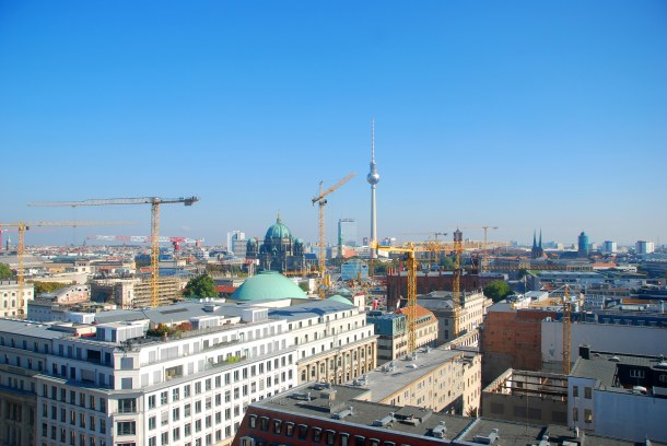 Virginia Duran Blog - Top Rooftops of Berlin - Französischer Dom Skyline Views