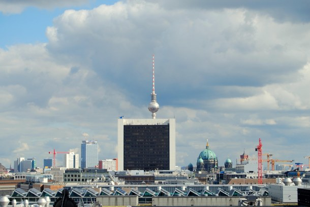 Virginia Duran Blog - Top Rooftops of Berlin - Reichstag Dome by Norman Foster skyline views