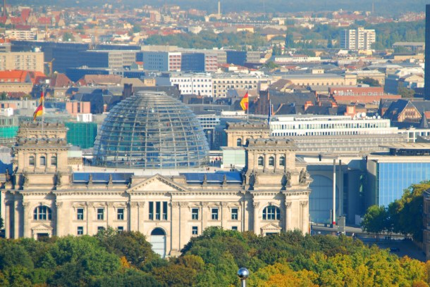 Virginia Duran Blog - Top Rooftops of Berlin - Reichstag Dome by Norman Foster