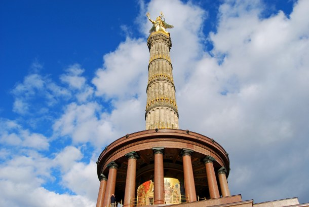 Virginia Duran Blog - Top Rooftops of Berlin - Siegessäule Victory Column