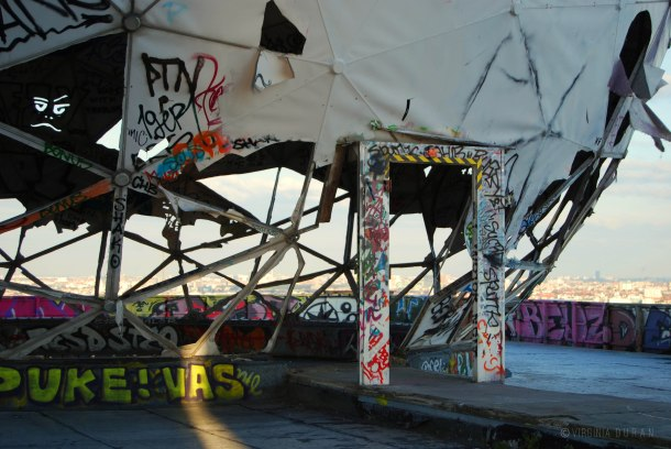 Virginia Duran Blog - Top Rooftops of Berlin - Teufelsberg Abhörstation (Abandoned spy station)