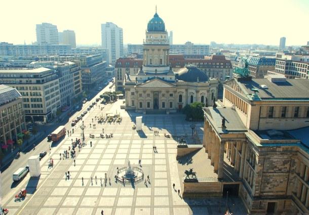 Virginia Duran Blog - Top Rooftops of Berlin - Views of Deutcher Dom from Französischer Dom by Carl von Gontard