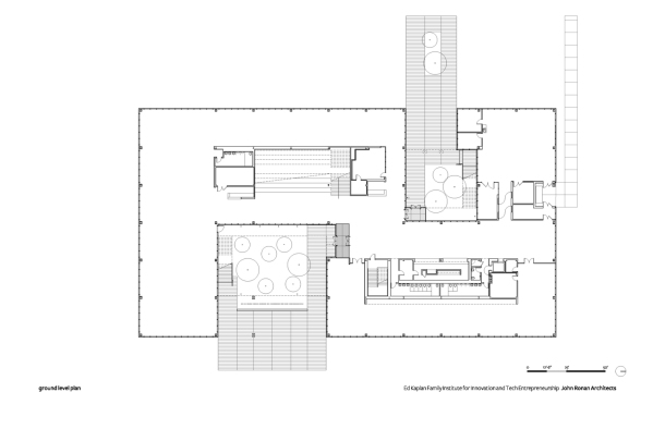 16-Ed Kaplan Family Institute-GROUND PLAN-Chicago Architecture-Virginia Duran