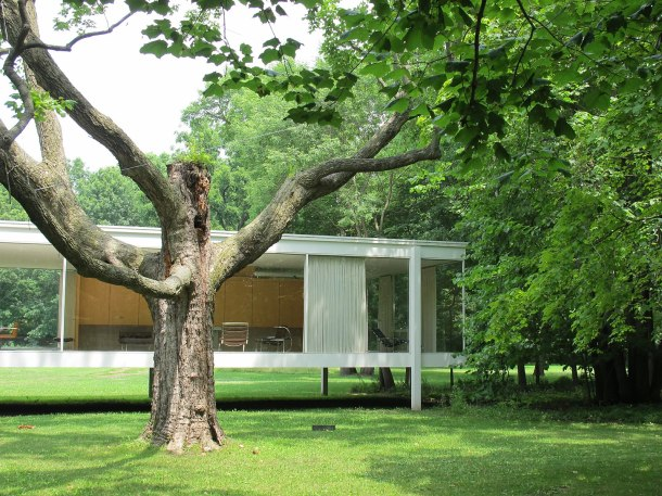 24-JFarnsworth House- Chicago Architecture-Virginia Duran